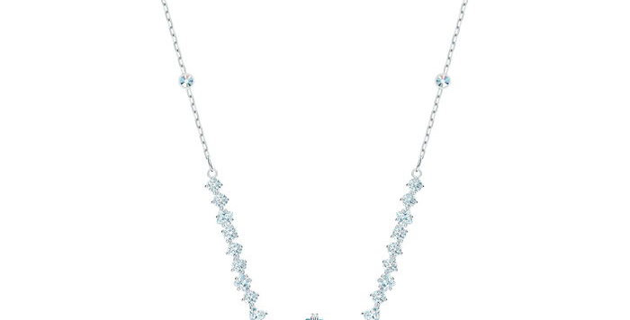 Swarovski smykke Sparkling, aqua