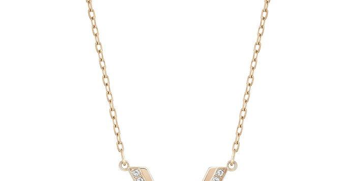Swarovski smykke Delta, hvitt