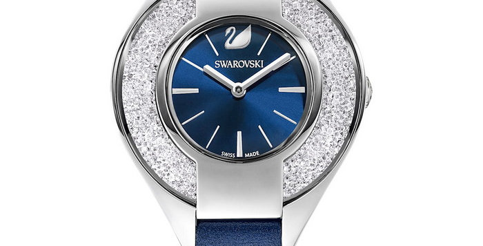Swarovski klokke Crystalline Sporty, blå
