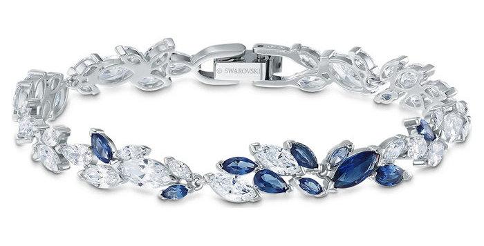 Swarovski armbånd Louison, blå
