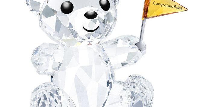 Swarovski figurer Kris Bear - Congratulations