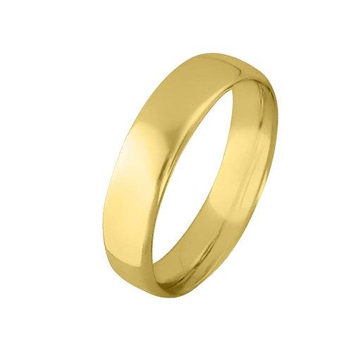Giftering til herre i gult gull 14kt, 5 mm. OREST modell 803