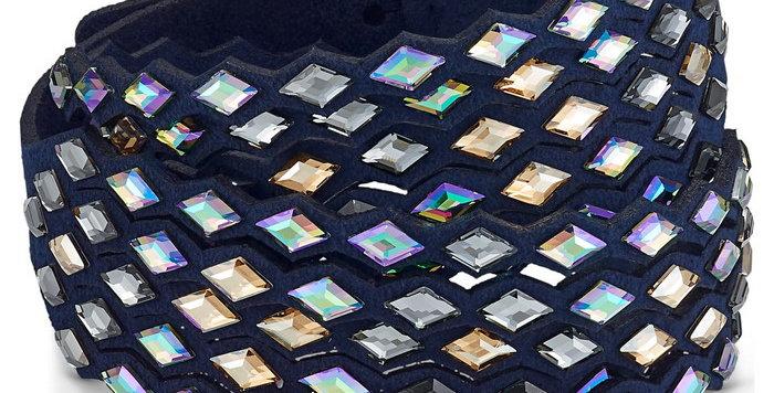 Swarovski armbånd Power Collection, blå
