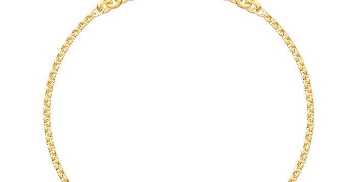 Swarovski armbånd Ladybug Strand, gold