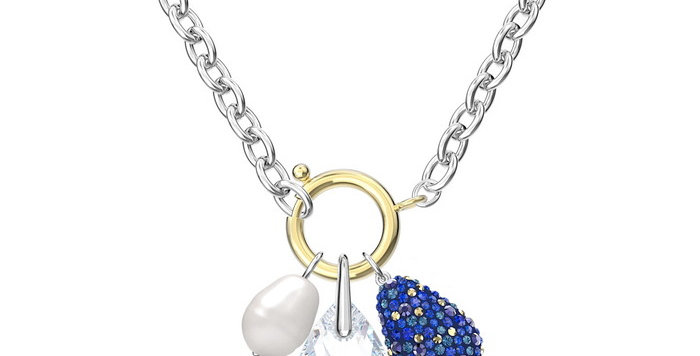 Swarovski smykke The Elements, blå