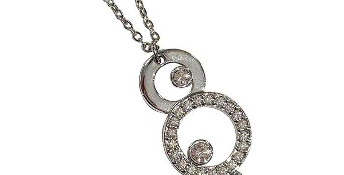 Swarovski smykke med 3 rundninge
