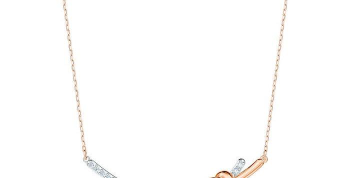 Swarovski smykke Lifelong Heart, hvitt