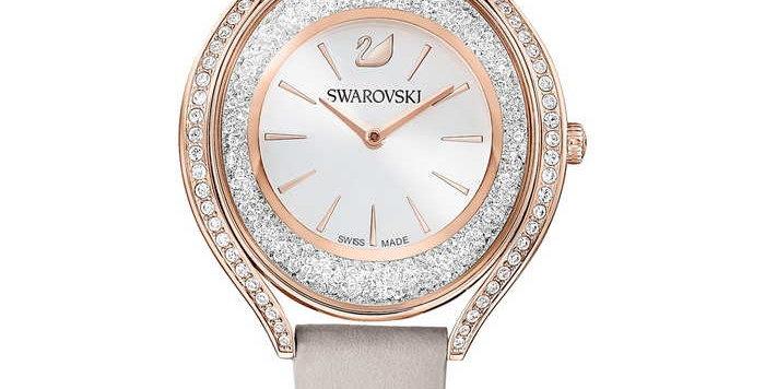 Swarovski klokke Crystalline Aura, rose