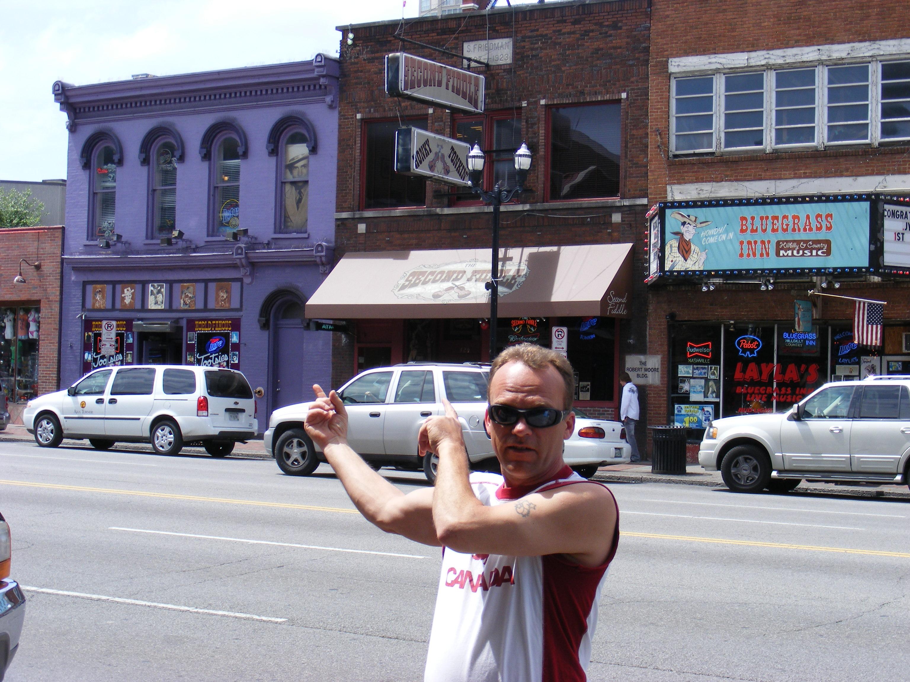 Broadway St Nashville