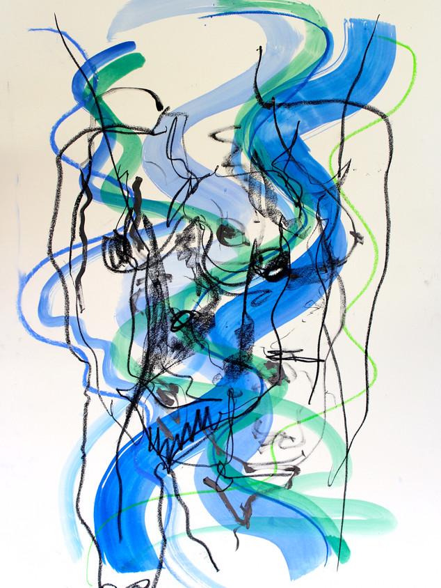 Blue Nude XIV
