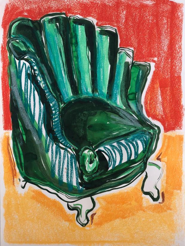 Victorian Shell Chair