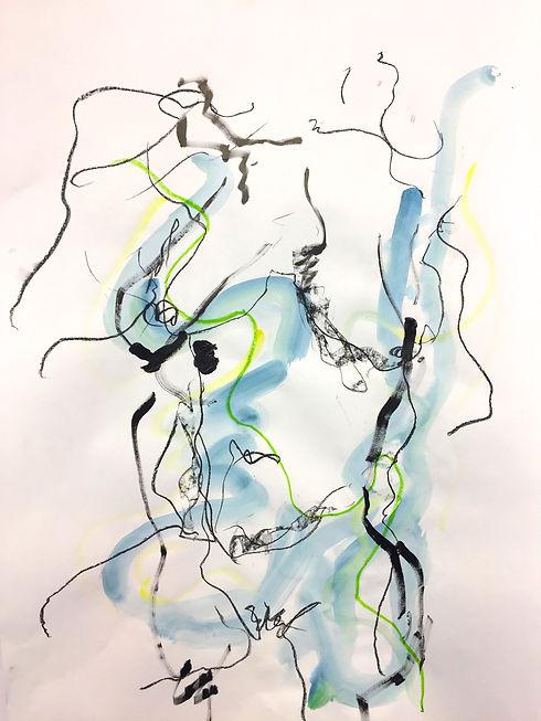 Blue Nude VI A1