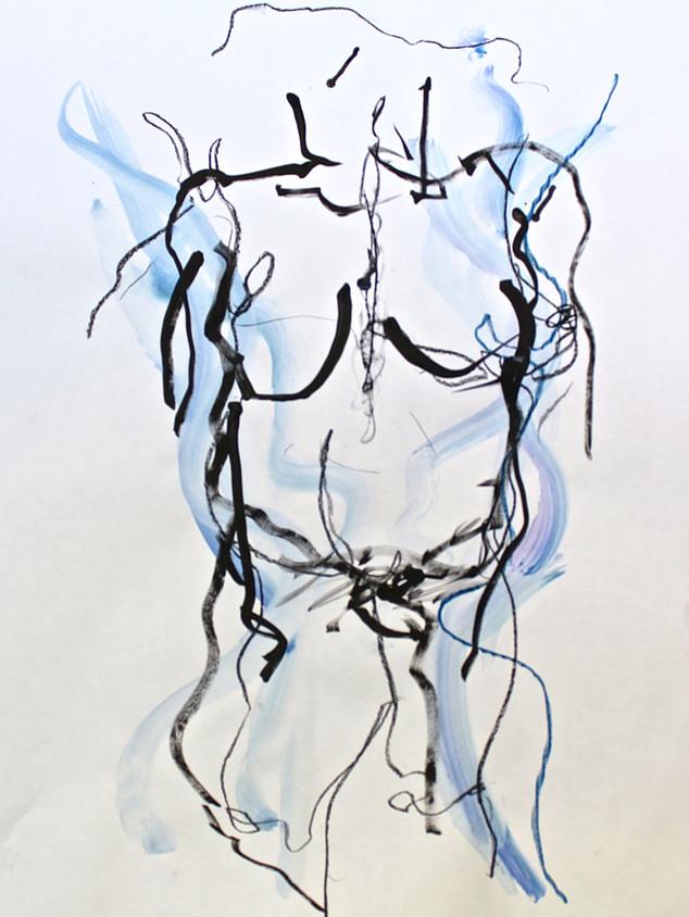 Blue Nude XI