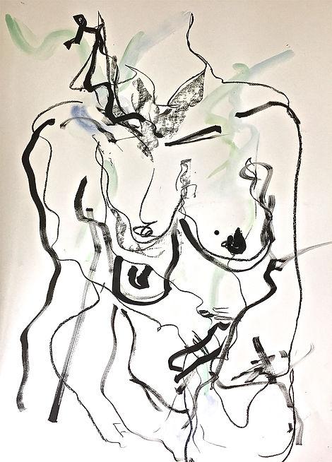 Blue Nude V