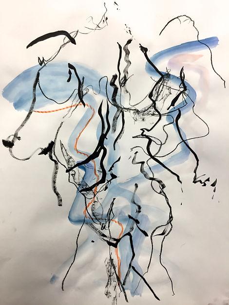 Blue Nude VII A1