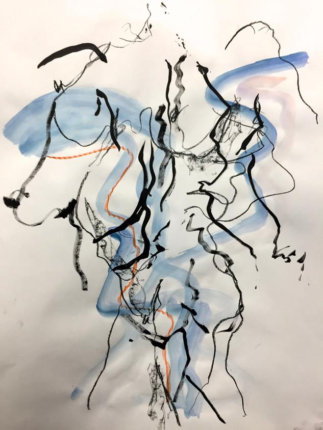 Blue Nude VII