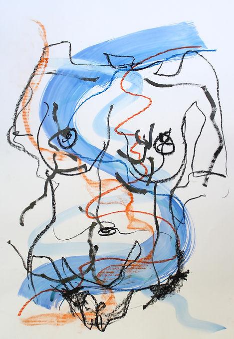 Blue Nude IX A1