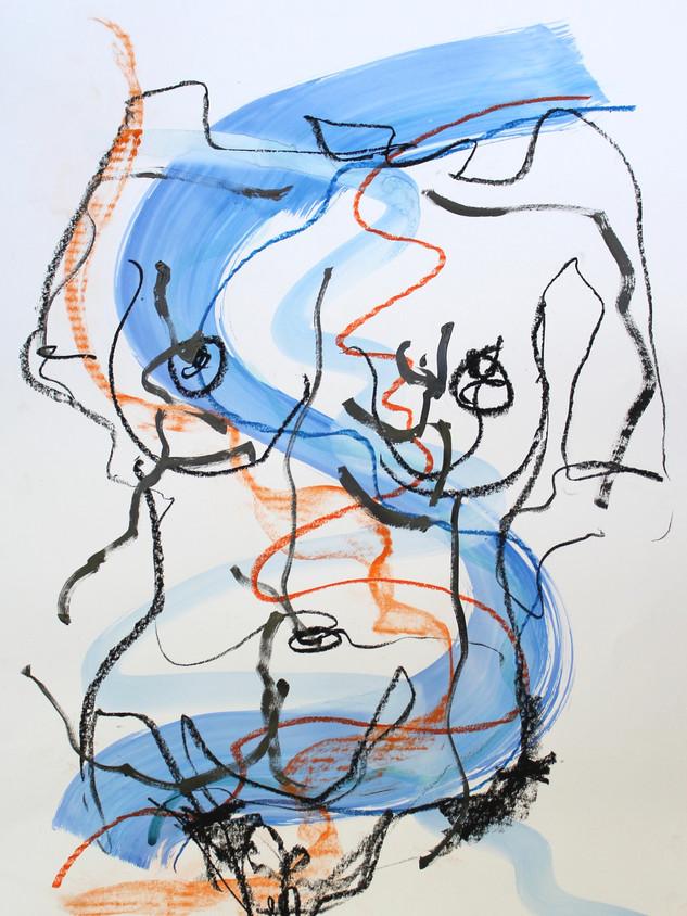 Blue Nude IX
