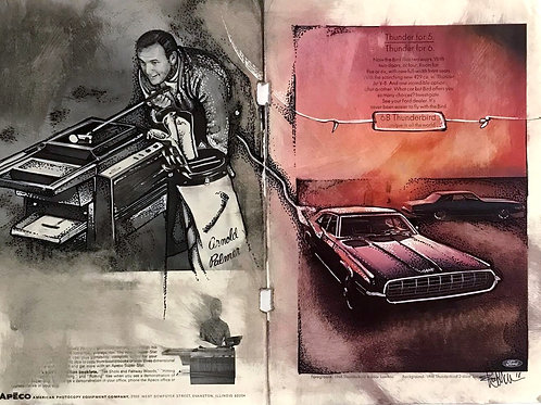 Arnold Palmer and Ford Thunderbird Ads