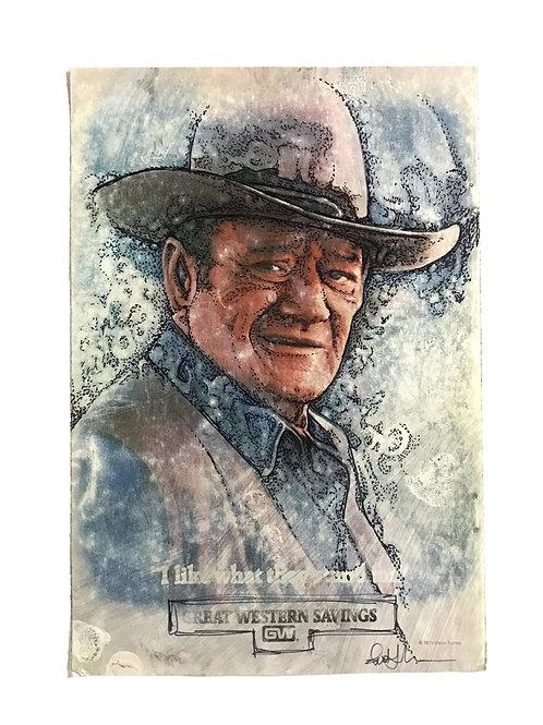 John Wayne -Great Western Savings