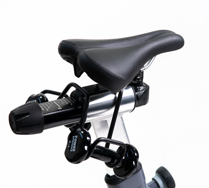 Saddle/Dumbell Rack (included)