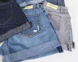 Women Shorts Hemmed