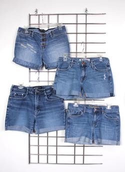 Women Shorts Unhemmed