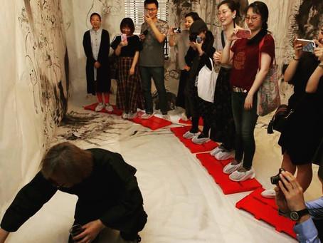 成都でも展覧会でお世話になっている上海のShun art galleryにてしりあがり寿さんの展覧会が開催されていますのでこちらでも紹介させていただきます。