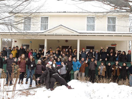 Thanks!Vermont Studio Center December