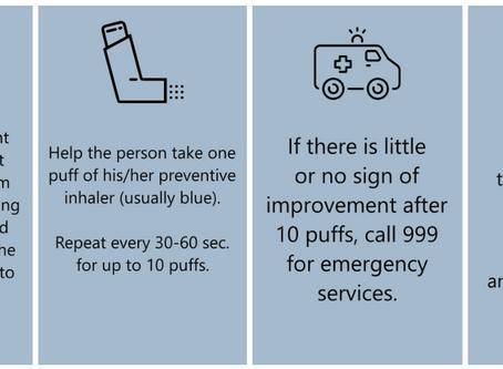 4 Vital Steps to Asthma Emergency Plan