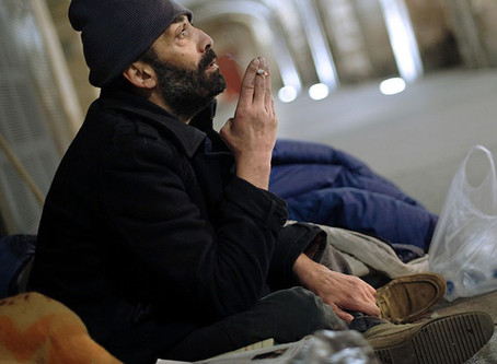 The mental hell of the homeless