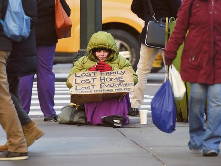 $1 billion a day to charities, Yet poverty rising up. Why?