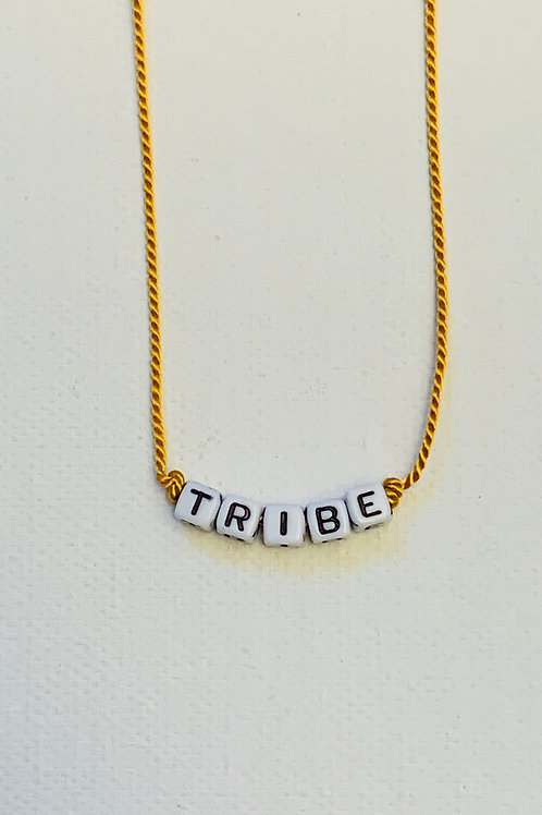 Block Letter Word Necklace