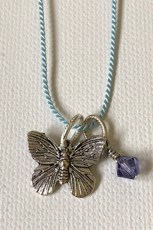 New Creation Butterfly Necklace