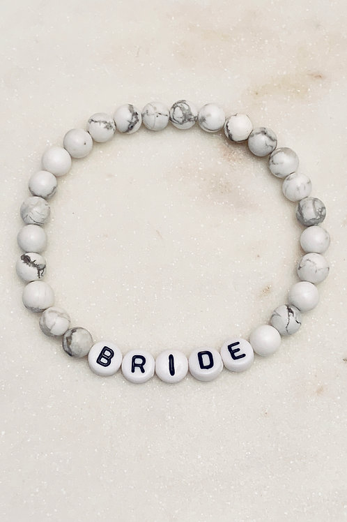 BRIDE Semi-Precious Stones Collection-Bubble Letters Only