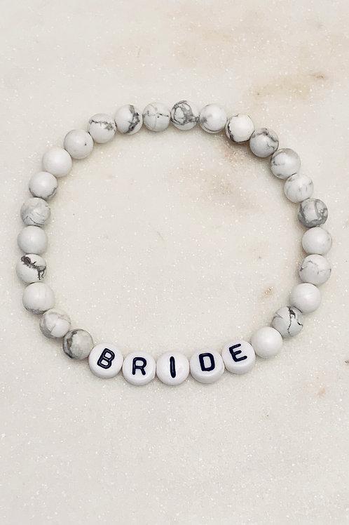 BRIDE Semi-Precious Stones Collection-Bubble Letters Only