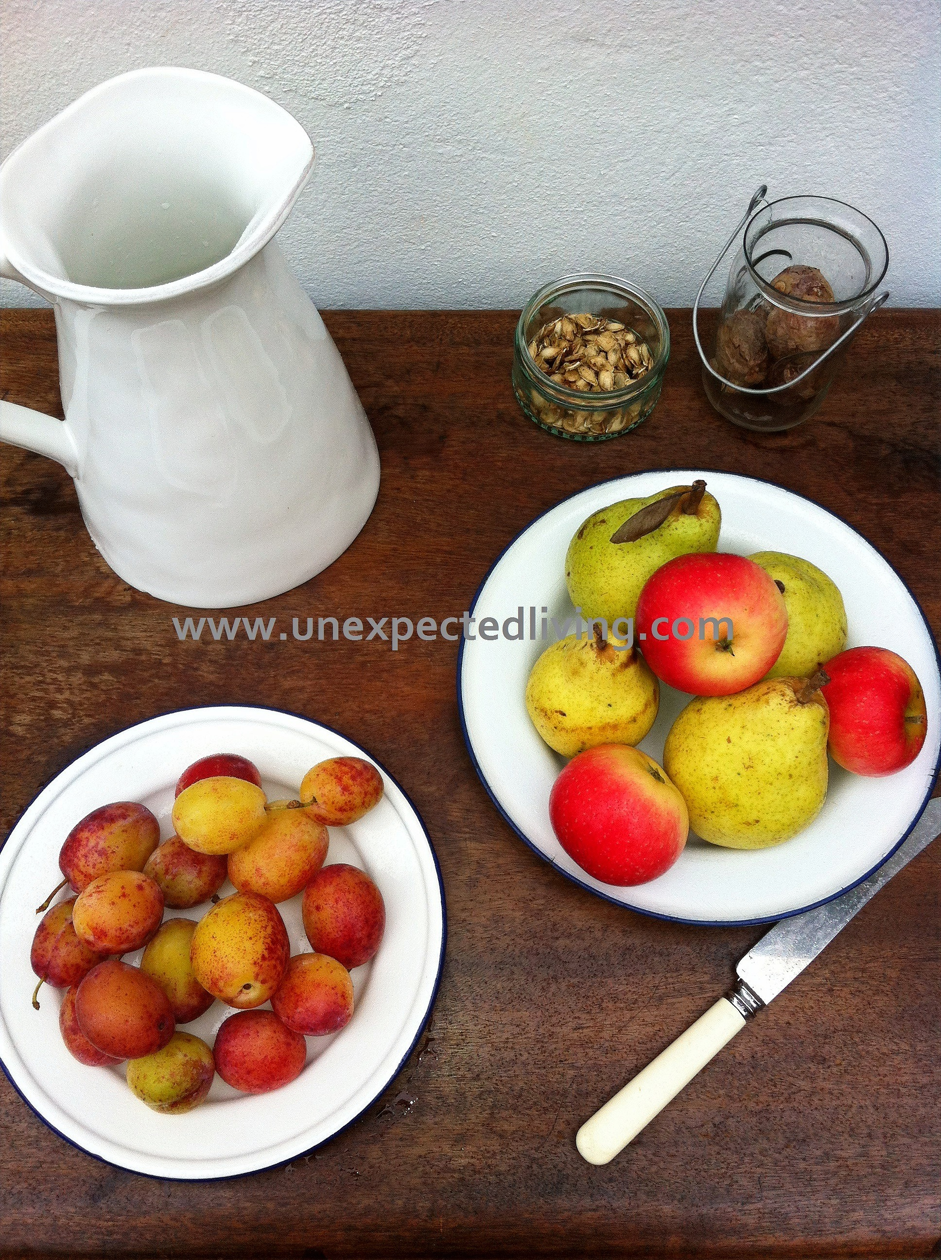Unexpected Living Home Styling Fruits