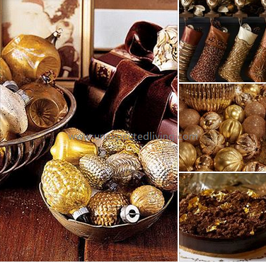 Golden Chocolate / Unexpected Living Styling