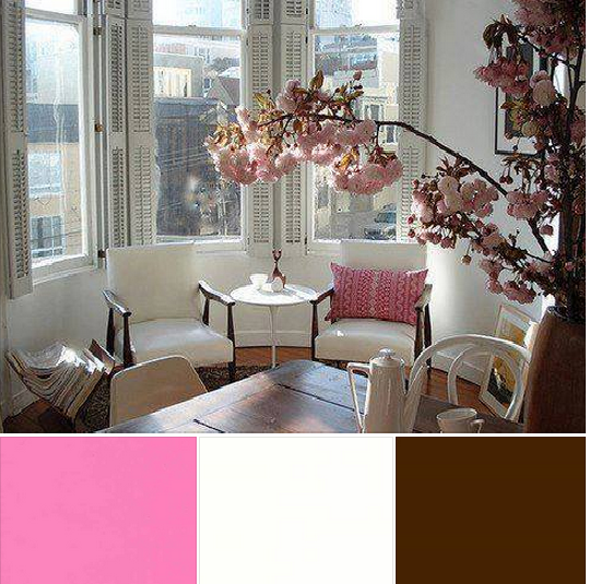 Colour Cocktail - White, Pink & Brown