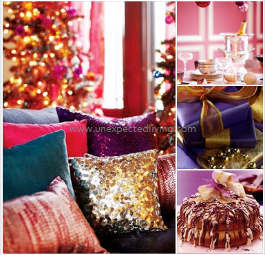 Purple Glamour  / Unexpected Living Styling