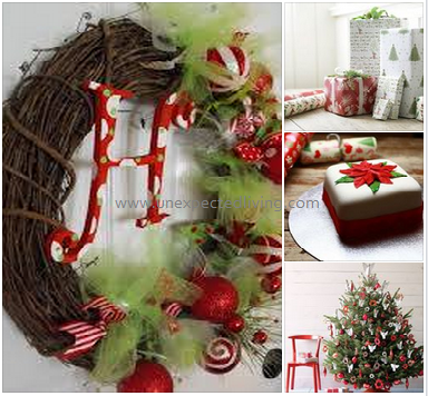 Traditional Red & White / Unexpected living Styling