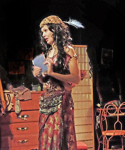 Photo by Hal Weiner, Eva as Mata Hari