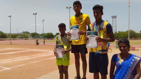 A. Ganesan - 8th std - 3rd prize in Hurd