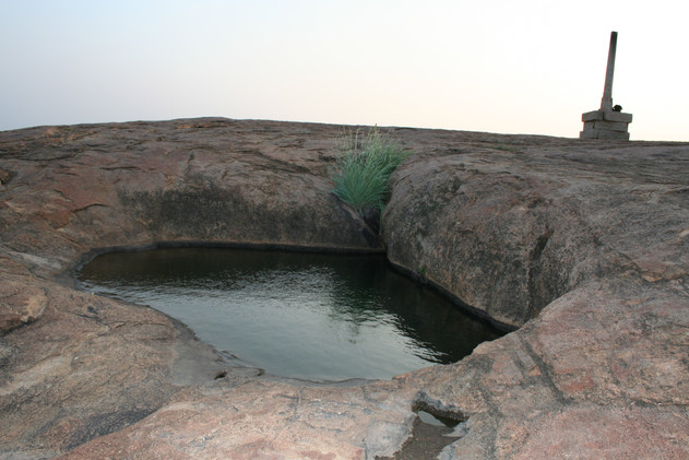 Never Drying Stream used by Jain Monks