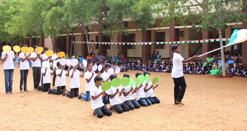 Pallotti School Independence Day