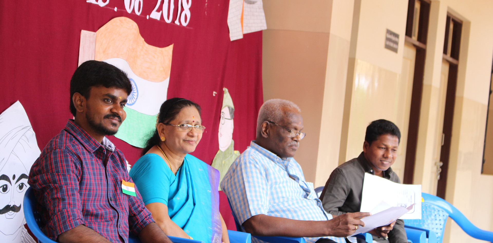 Dr. Antony Paul Presides Over the Function