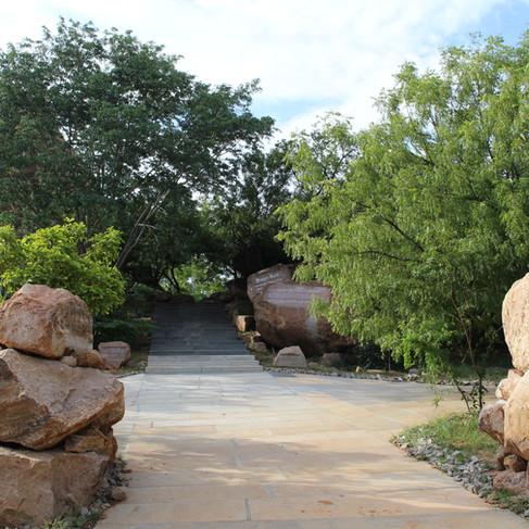 Sacred Grove Entrance
