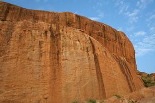 Twin Rocks - side view