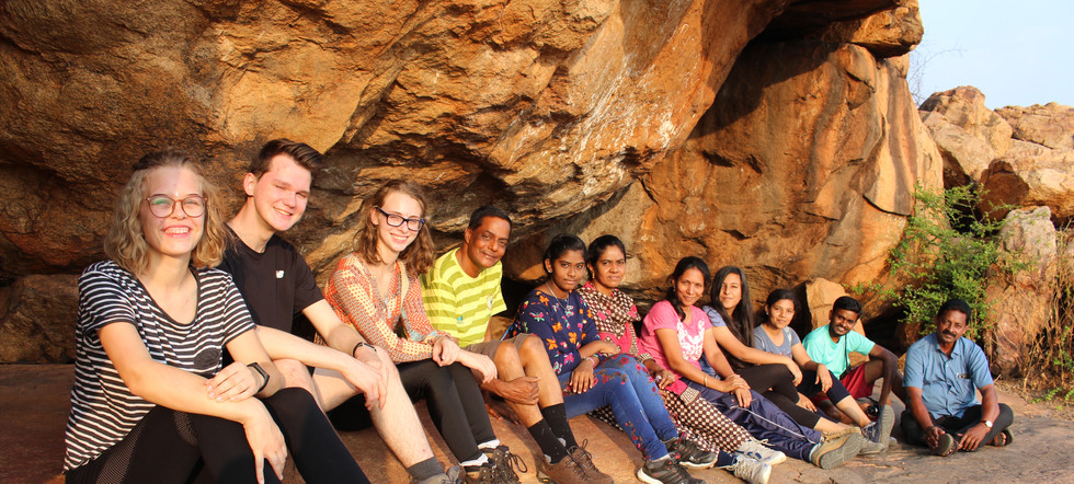 Before Jain Cave where monks lived