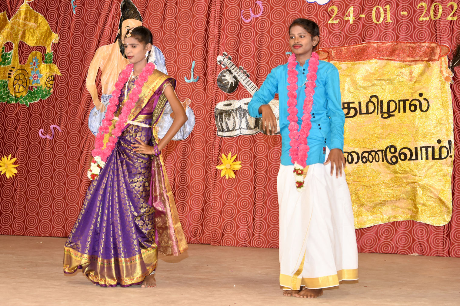 An emotionallyl moving dance-drama depicting the evil of dowry system